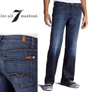 7 For All Mankind Relaxed Button Fly Jeans size 33